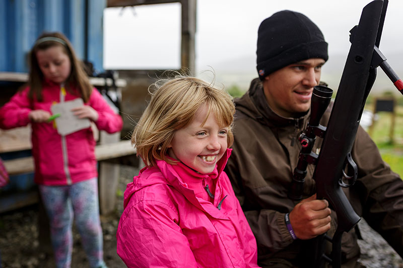 Isle of Skye things to do with kids - ACE Target Sports