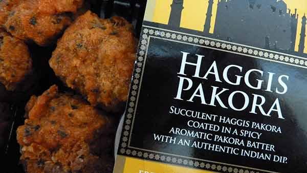 Haggis pakora