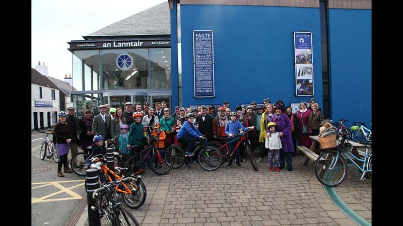 Stornoway - Harris Tweed Bicycle Ride, Isle of Lewis
