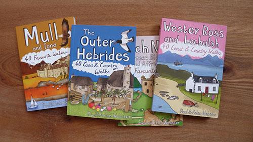 Highland walks: Pocket Mountain Walk Books