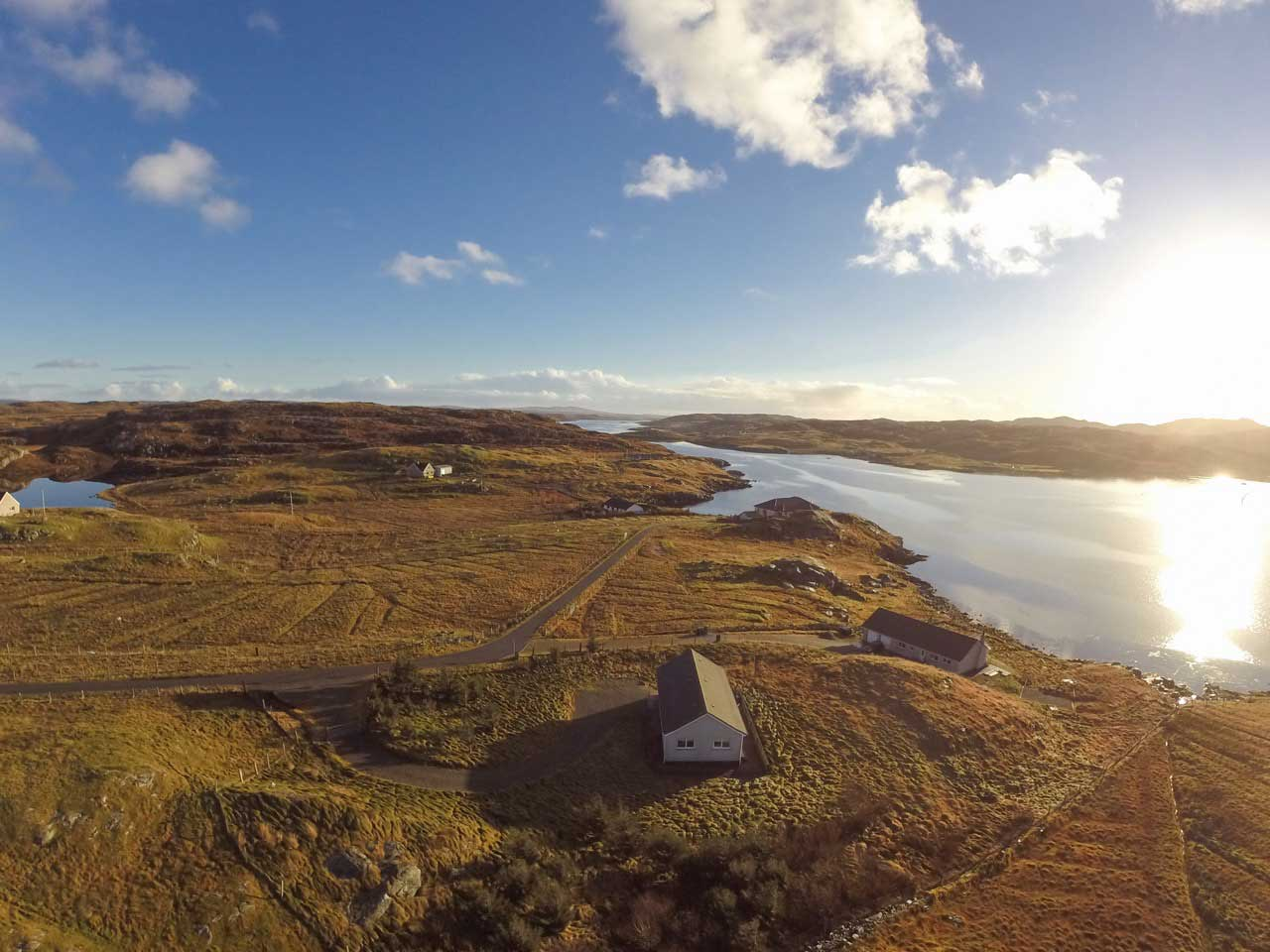 Taigh Solas Self Catering Holiday Cottage, Great Bernera, Lewis